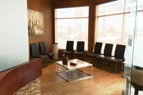 Parkway Dentistry patient lounge