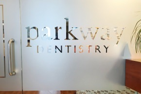 Parkway Dentistry clinic entrance